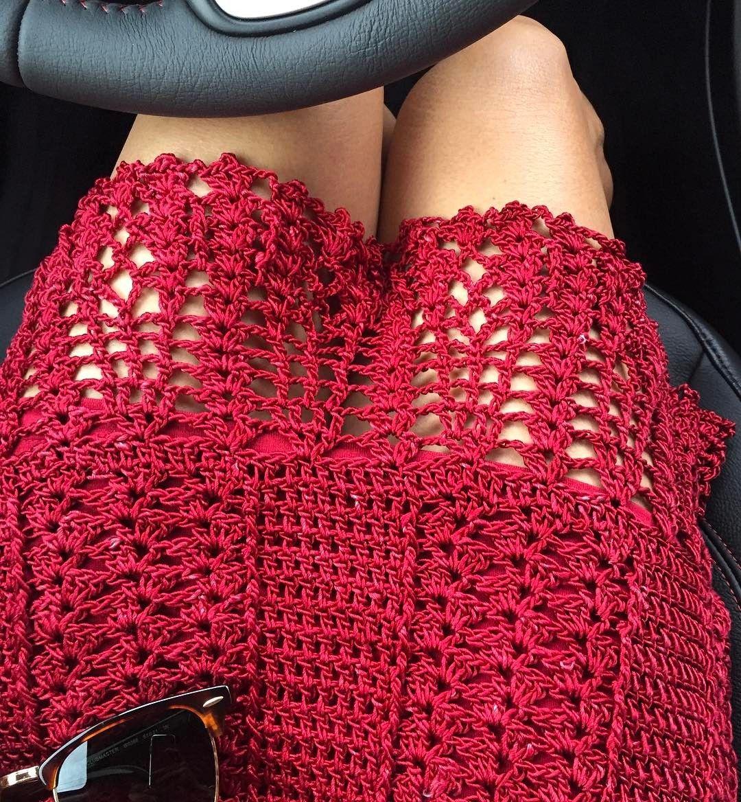 """1,110 curtidas, 9 comentários - Meire Doná (@meiredona) no Instagram: """"E vamos passear... porque hoje é sábado ❤️#handmade #crochet #meiredona #luxury #style #dress…"""""""
