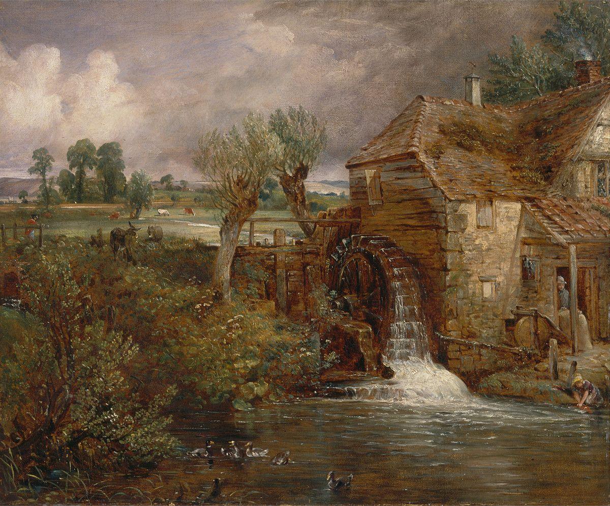 John Constable Parham Mill Gillingham 1826 Poster