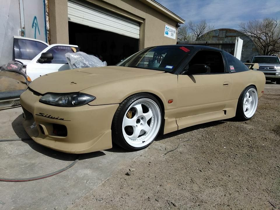 Nissan Silvia S13 5 S13 W S15 Front End Conversion Modified Custom Jdm