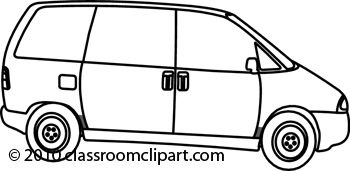 Van Black And White Clipart Clipart Kid Vans Black And White