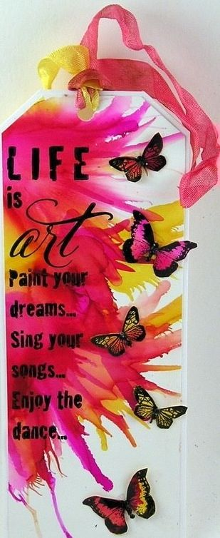 Life is art quote via Carol's Country Sunshine on Facebook
