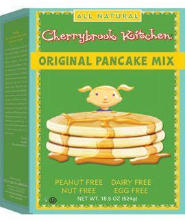 Original Pancake Mix PEANUT FREE Dairy Free + Egg Free + Nut Free  Vegan  Kosher