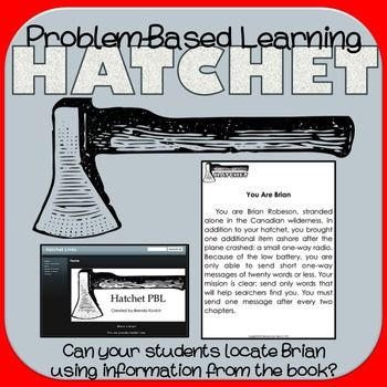 Hatchet Activities Pbl Critical Thinking Project Problem Based Learning Hatchet Activities Learning Stations
