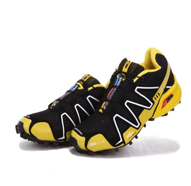 Jaune 3 Speedcross Noir Blanc Chaussures Trail Salomon F1cKlJ