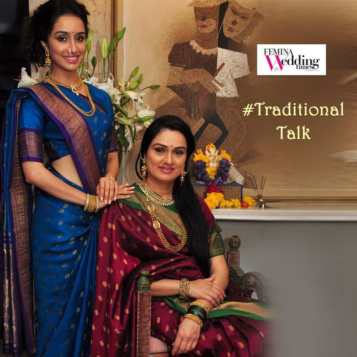 #FlauntYourTradition! Nothing beats being an #Original! Watch this gorgeous aunt-niece duo nail it with the #PerfectMarathiAvatar! #MaharastrianTrousseau #MarathiDressUp