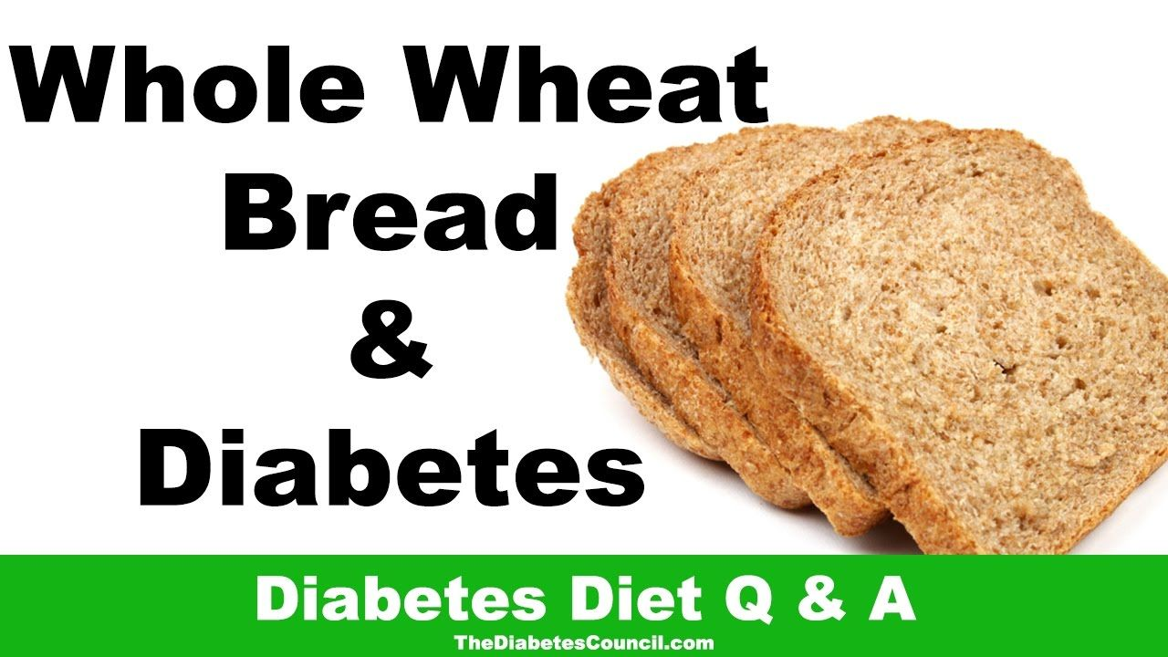 is whole wheat bread good for diet