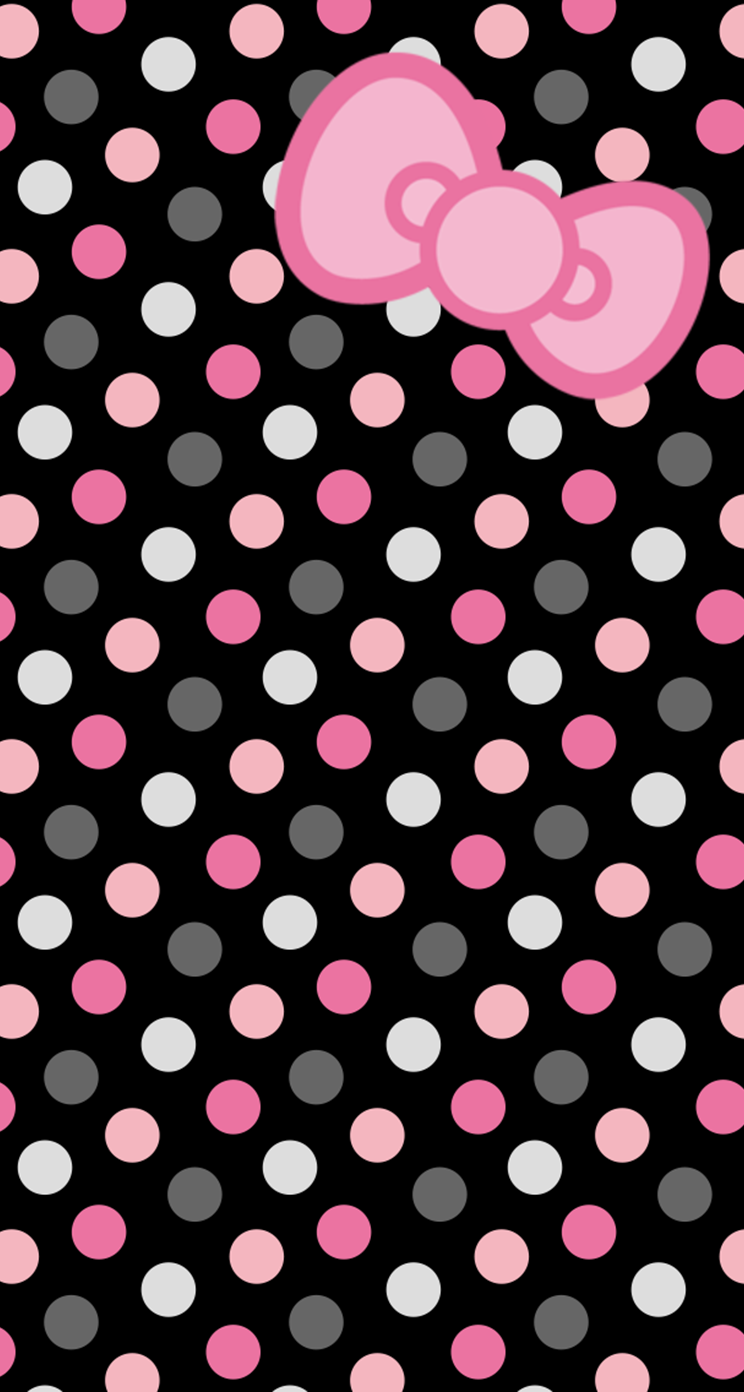 Hk Polka3 Png 744 1 392 Pixels Hello Kitty Wallpaper Kitty Wallpaper Hello Kitty Backgrounds