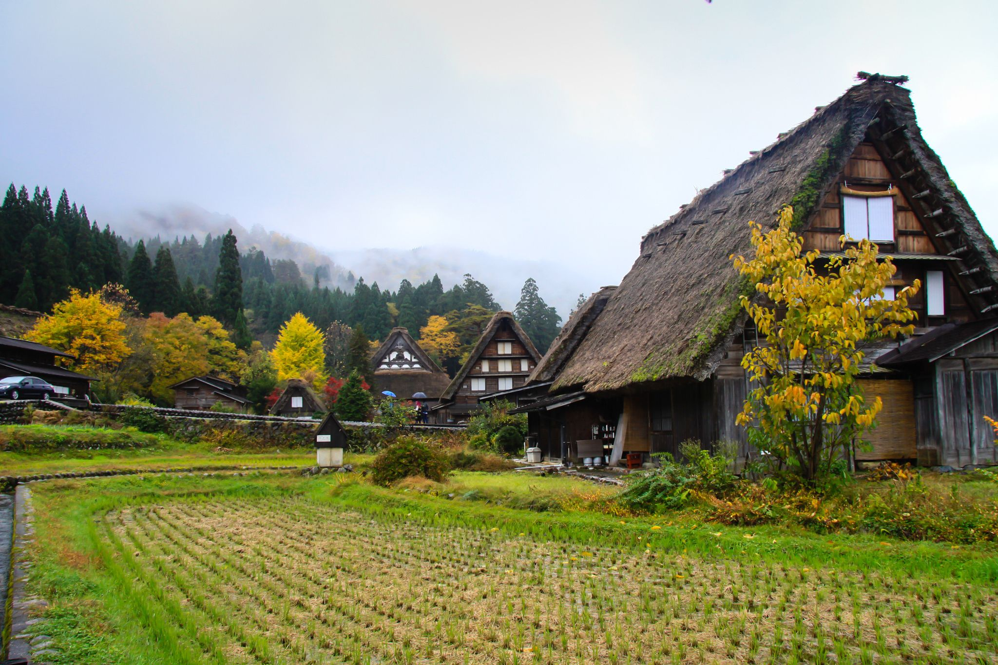 Shirakawa-go village, a world heritage by Hoang Nguyen on 500px