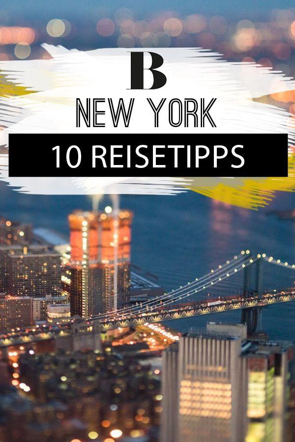 """10 Reisetipps für New York - illustriert mit den fantastischen Fotos von Jasper Léonard aus dem Fotoband """"New York Resized""""."""
