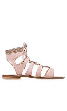 CoRNETTI Recommone Gladiator Sandals in Blush | REVOLVE #gladiators #covetme