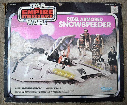 1981 Star Wars Empire Strikes Back Snowspeeder Instruction Manual reprint