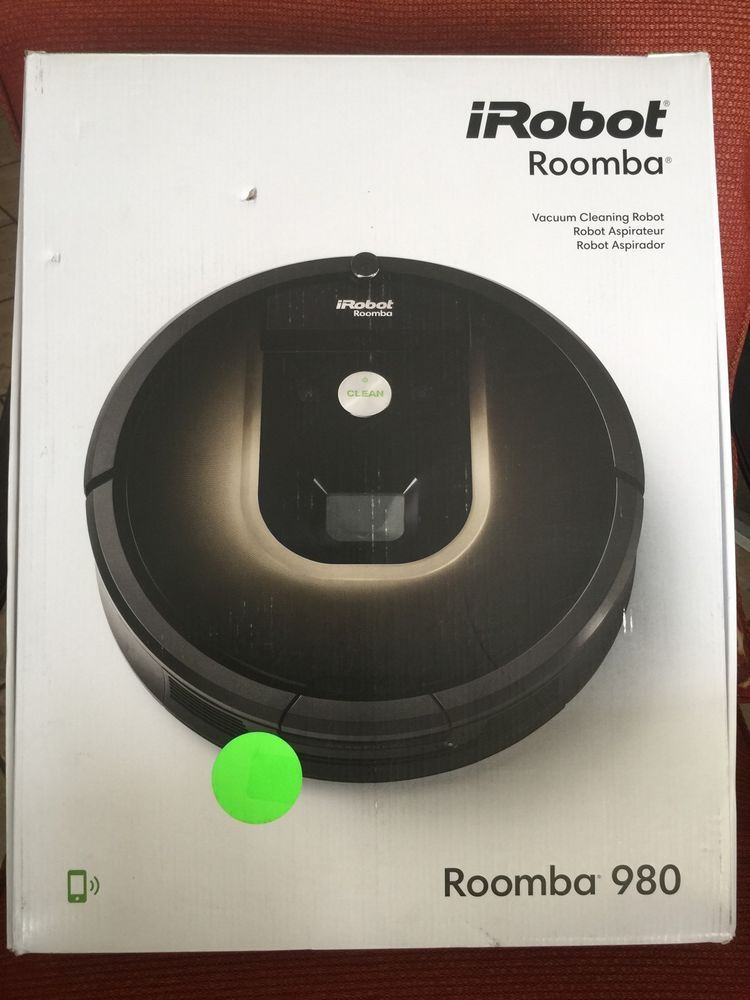 Irobot Roomba 980 Vacuum Cleaning Robot Pet Gadgets