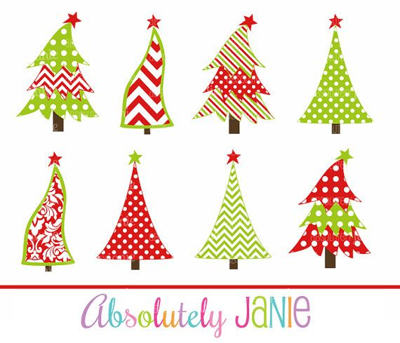 Free download Whimsical Christmas Tree Clipart for your creation - free christmas tree templates