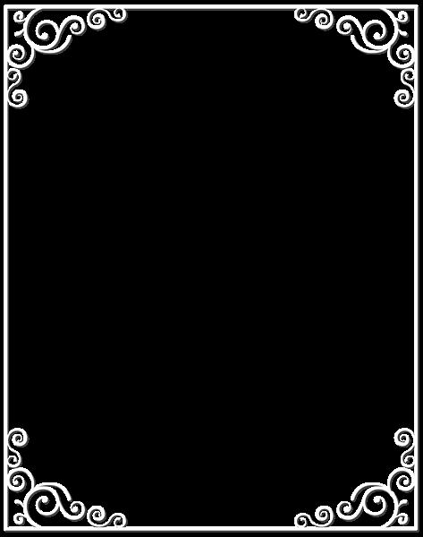 White Border Frame Png Clip Art Image Clip Art Free Clip Art Clip Art Borders
