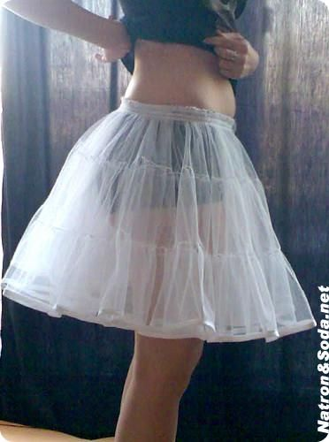 Falso De Cueca Tutú Enagua Sew Beautiful Diy Dress Sewing