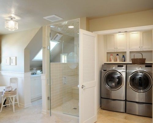 combined toilet and utility room - Google Search