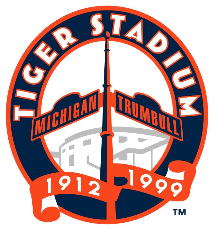 Tiger Stadium Patch For Final Season At Stadium | Detroit Tigers ...