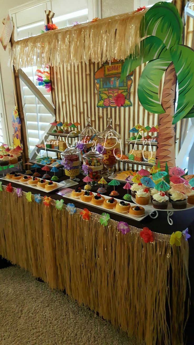 Hawaiian Luau Party #hawaiianluauparty