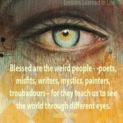 Heres To Seeing The World Through Different Eyes Womenforonecom