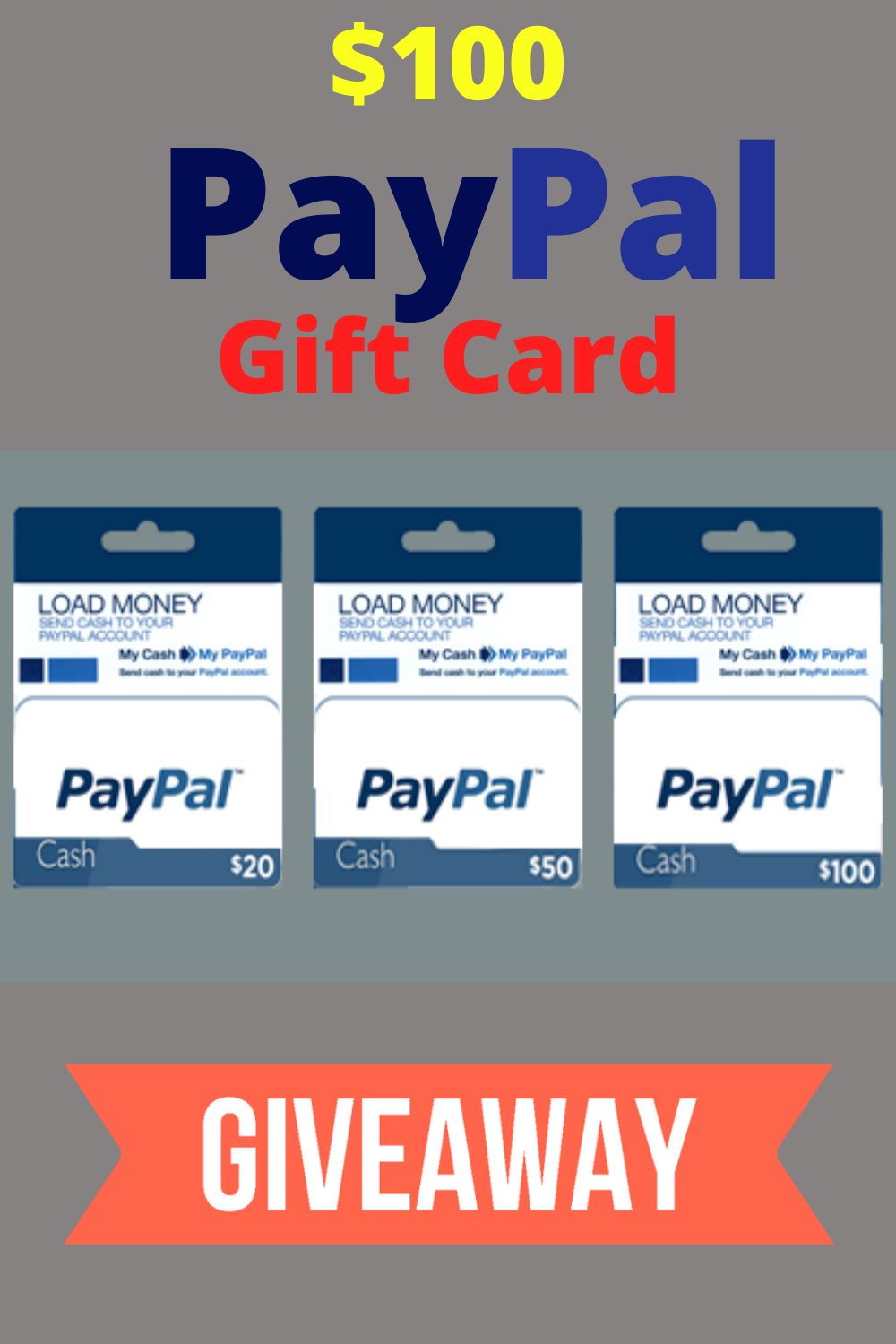 Congratulations You Ve Won A Free 200 Paypal Gift Card Cash Paypal Gift Card Gift Card Generator Get Gift Cards