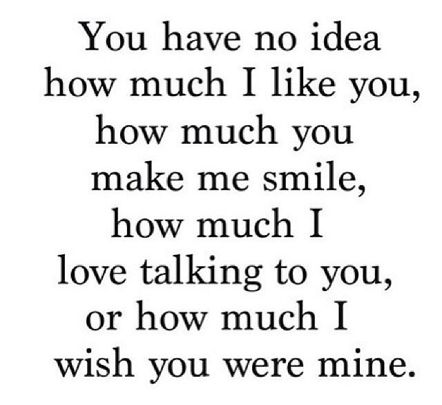 You have no idea.... I wish you are mine