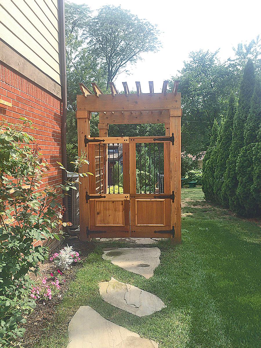 Astonishing Backyard Entrance Ideas  Backyard door, Backyard