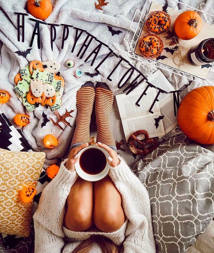 Happy Halloween fashion Women style Fall halloween