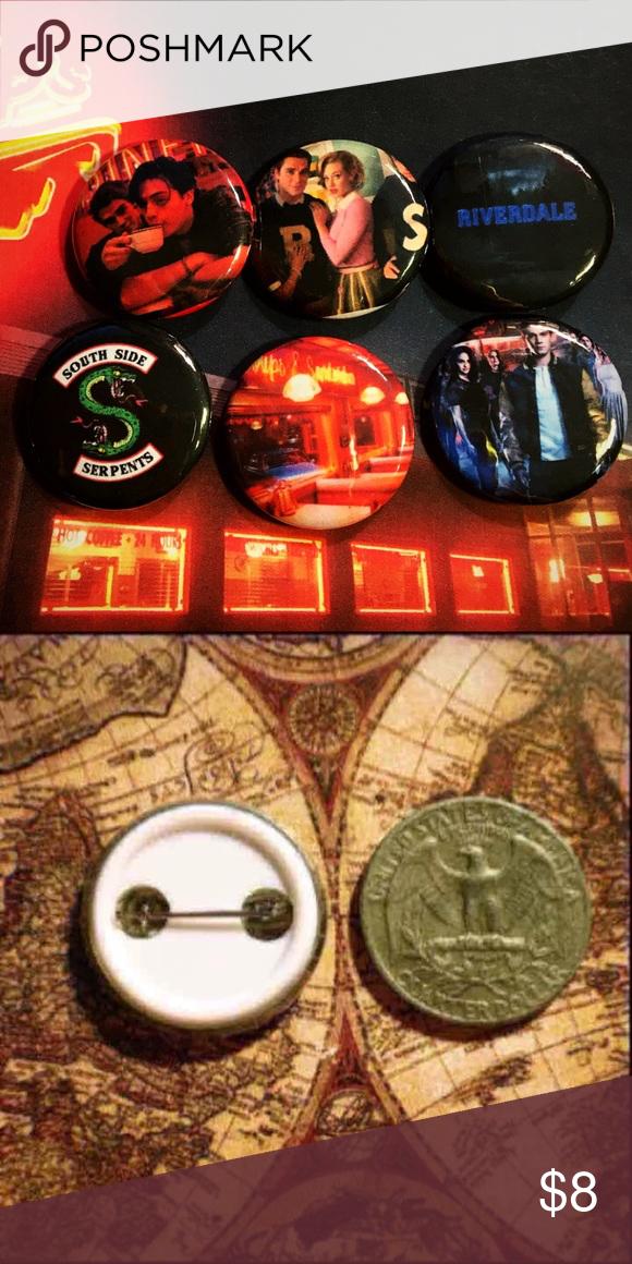 Riverdale Pin Buttons 6 Riverdale buttons ❤️You get all 6 buttons