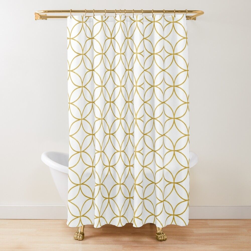 Get My Art Printed On Awesome Products Support Me At Redbubble Rbandme Https Www Redbubble Com In 2020 Traditional Design Gold Shower Curtain Japanese Traditional