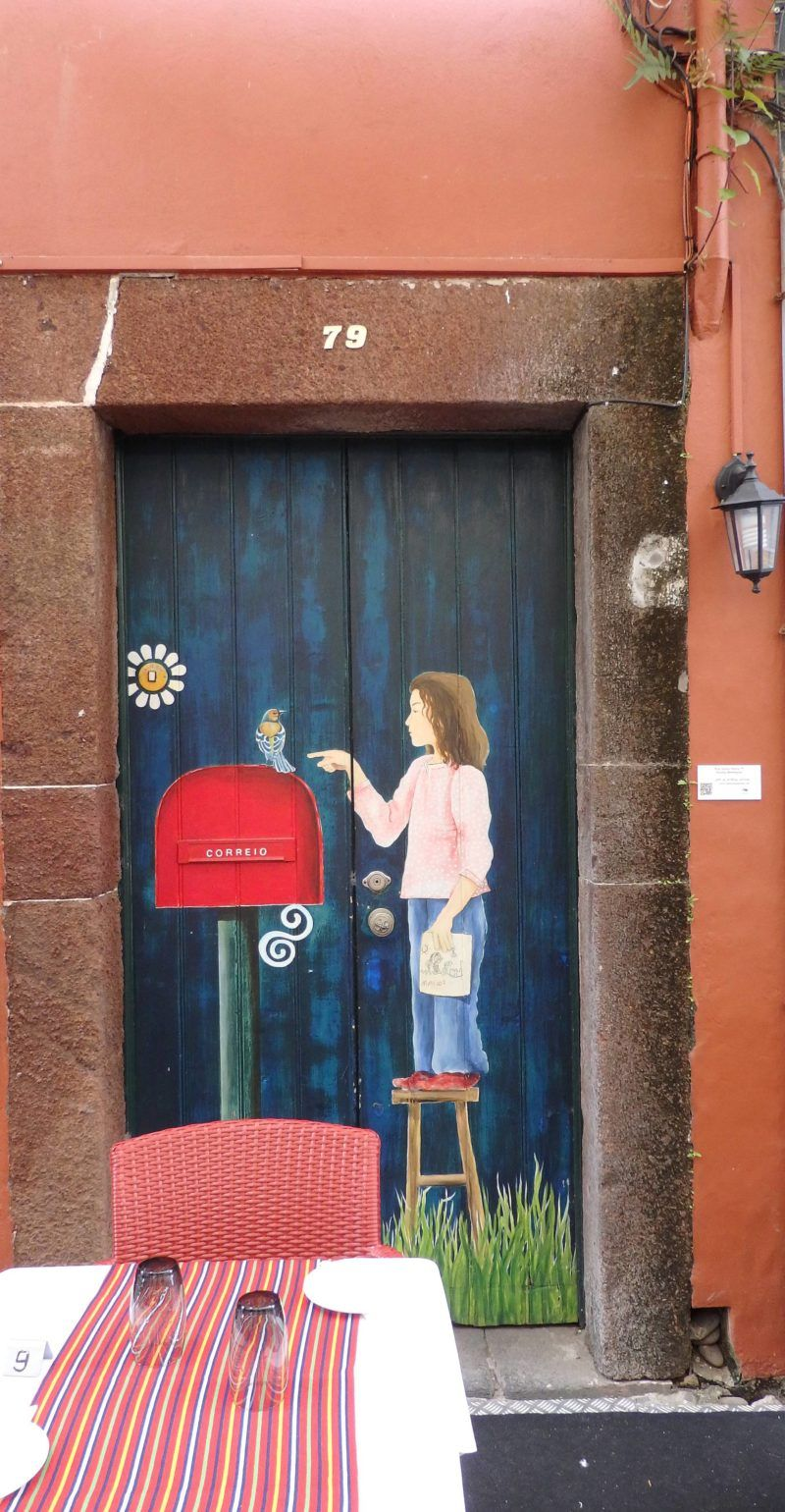 The Painted Doors Of Funchal Madeira Painted Doors Madeira