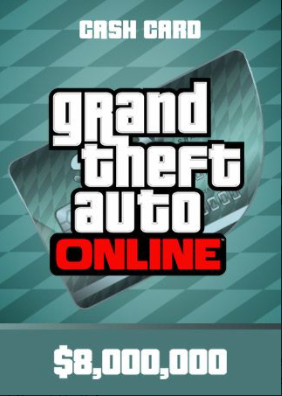 Grand Theft Auto Online Megalodon Shark Cash Card Pc 8 000 000 Rockstar Key Global Grand Theft Auto Cash Card Currency Card