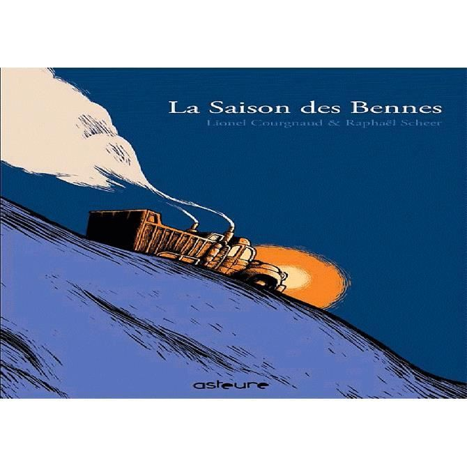 La saison des bennes, par Lionel Courgnaud, professeur de perspective et de mise en scène au CESAN - www.cesan.fr