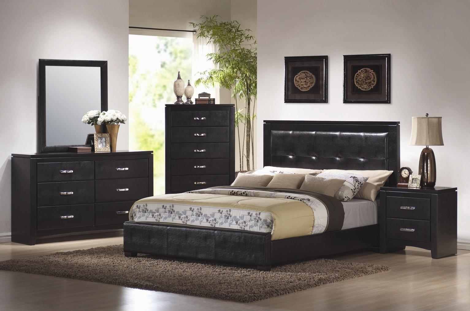 Coaster Dylan Platform Bedroom Set in Black 201401 | Stuff to Buy ...