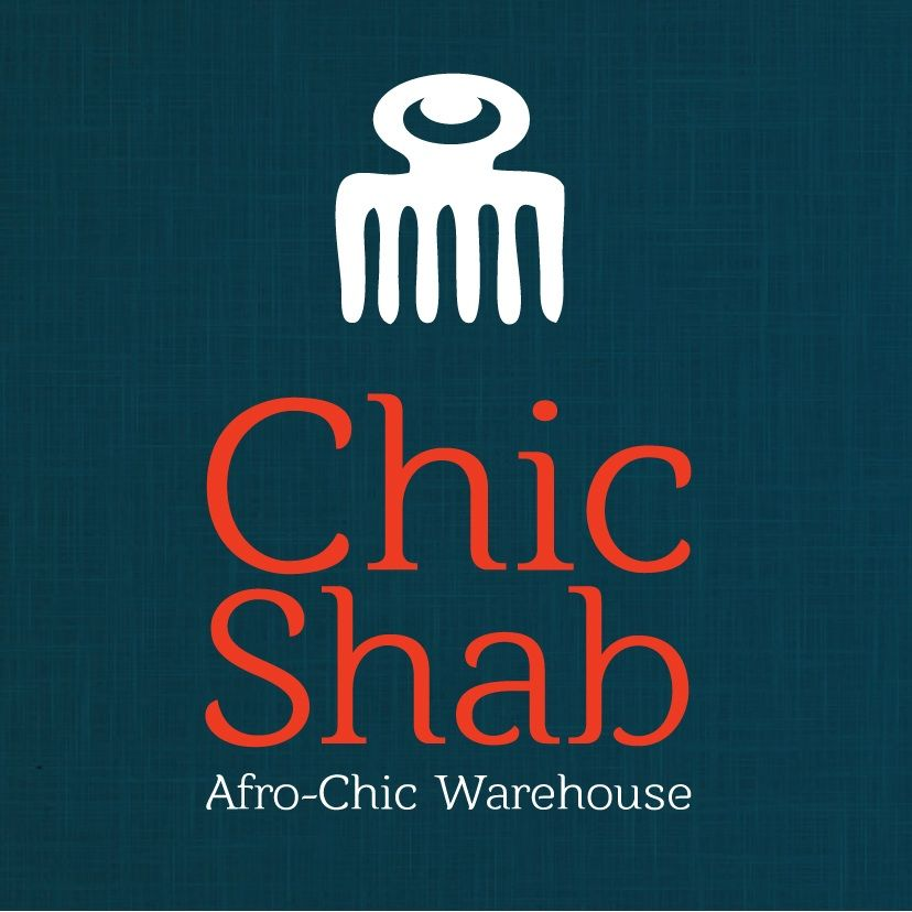 Chicshab logo -Afro chic design, shabby prices