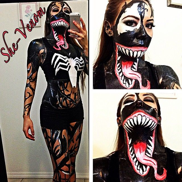 She Venom Cosplay By Ghostxs On Deviantart Favorite Holiday
