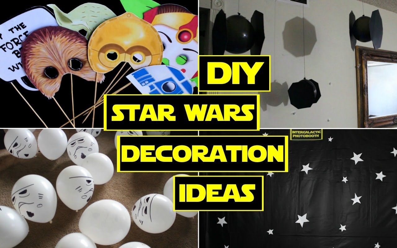 Diy Star Wars Decorations Star Wars Party Star Wars Decor Star Wars Diy Star Wars Decorations Diy