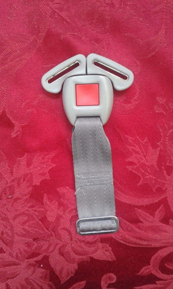 Peg Perego Car Seat Replacement Buckle Assembly Unisex Rear Facing Gray M PegPerego