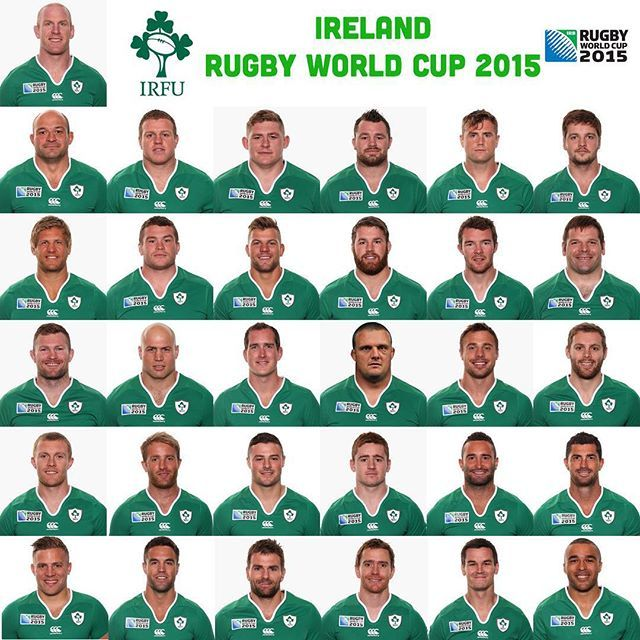 Here S The Ireland Rugby World Cup Squad Shouldertoshoulder Rugbyworldcup Ireland Rugby Rugby Irish Rugby