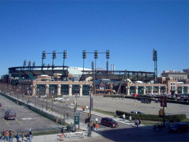 Tigers Comerica Park - entrance