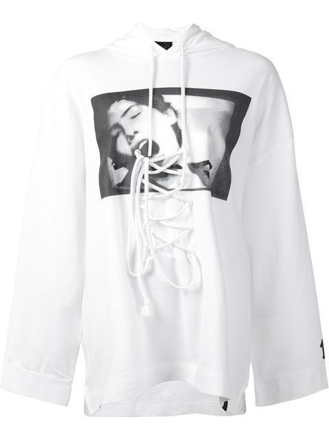 530d5c75467 PUMA Fenty Puma x Rihanna front lace hoodie.  puma  cloth  hoodie ...