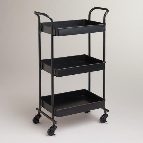 At WorldMarket.com: Espresso Austin Metal 3-Tier Cart