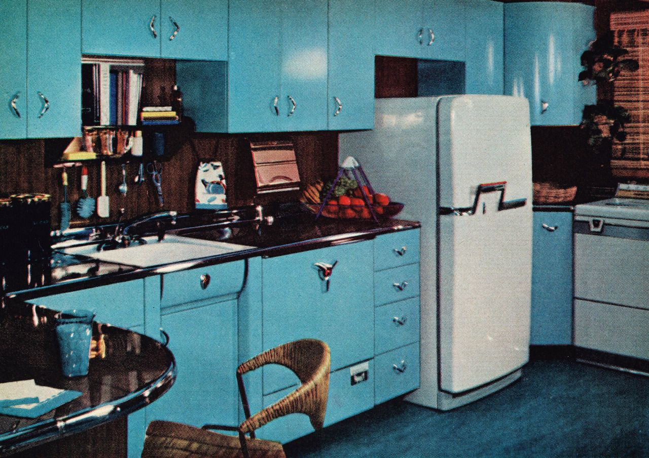 1950s Kitchen Design Welcome To Suburbia Kitschatron Kitchen Designed By Good