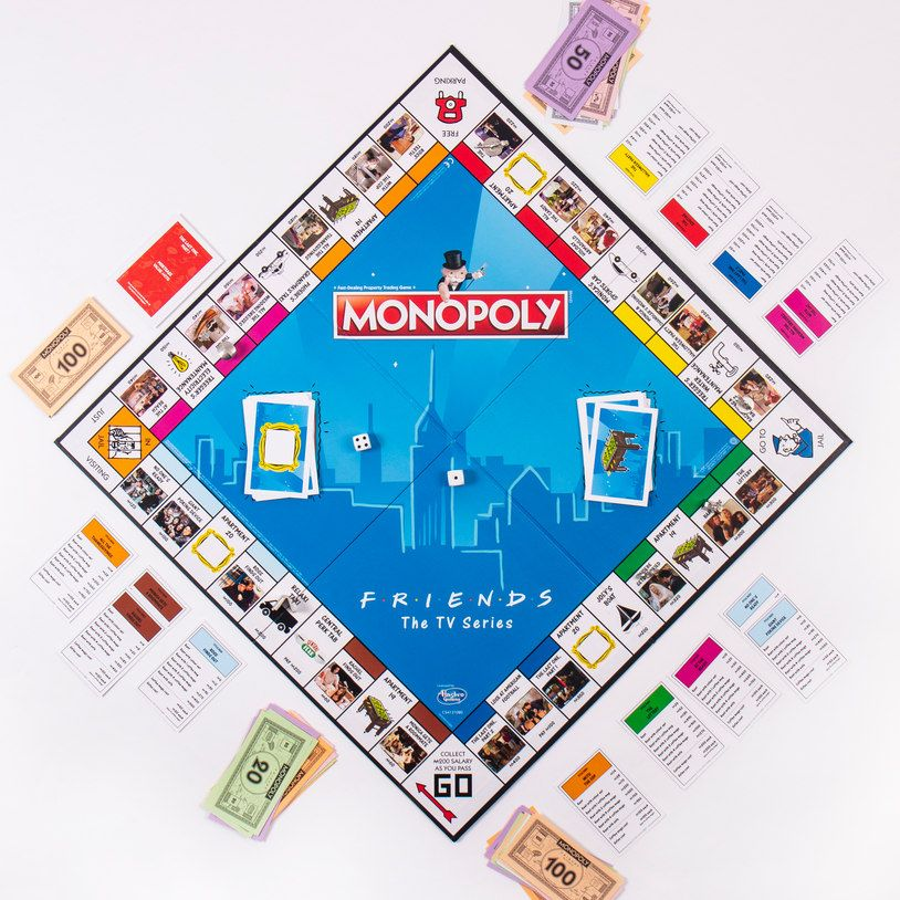 FRIENDS Monopoly is long overdue. So many memorable