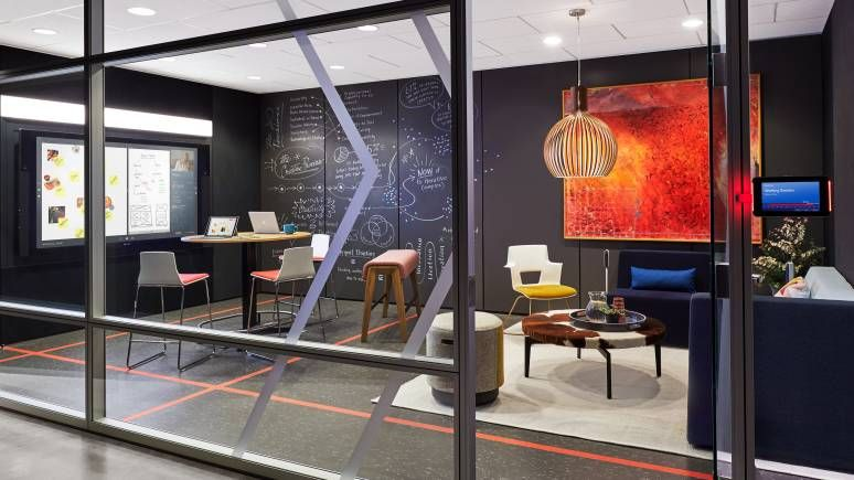 Steelcase - Office Furniture Solutions, Education  Healthcare - innovatives interieur design microsoft