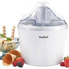 vonshef ice cream frozen yogurt and sorbet maker machine 1 5 qt i