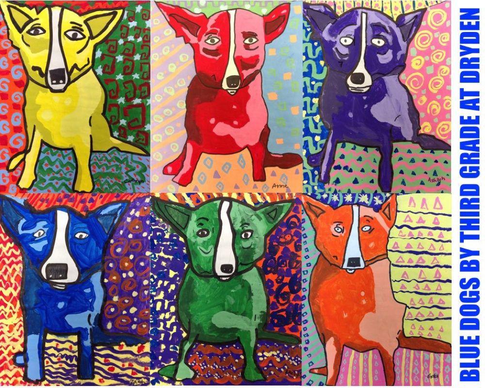 Animal Art Projects Third Grade