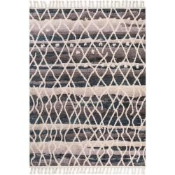 benuta Trends Berber Teppich Bahar Multicolor/Blau 90x150 cm
