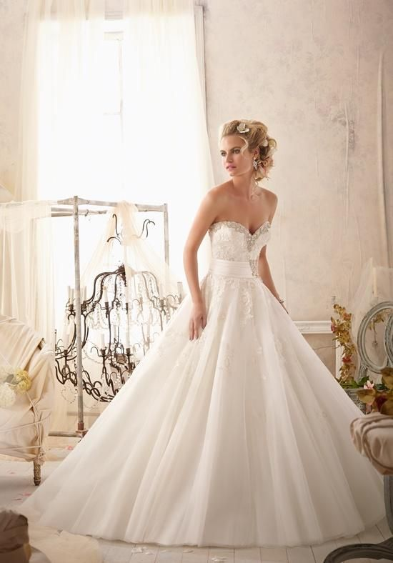 Mori Lee by Madeline Gardner 2614 Wedding Dress - The Knot