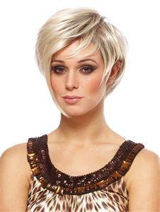 Victoria Short Blonde Wig   Halloween Wig