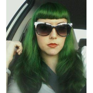 Dye Hair Special Effects Sfx Color Iguana Green